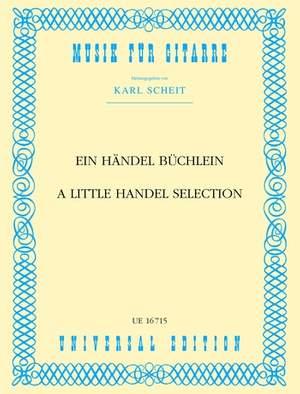 Händel Georg Fr: Scheit A Little Handel Selection S Gtr