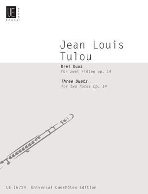 Braun Gerhard: Tulou Three Duets Op14 2 Fl Op. 14