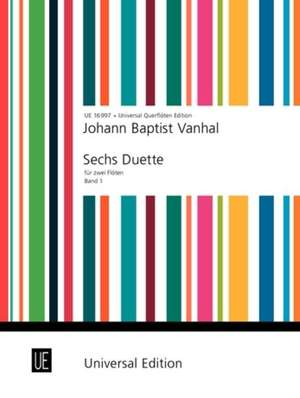 Vanhal, J K: Six Duets Vol.1 2fl Band 1