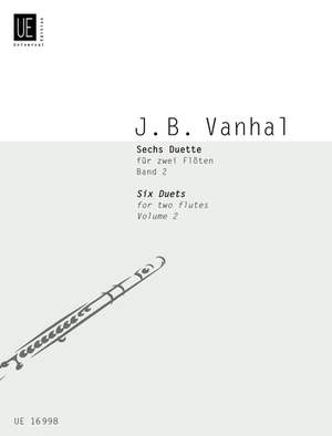 Vanhal, J K: Six Duets Vol.2 2fl Band 2