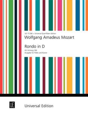 Mozart, W A: Rondo KV Anh. 184