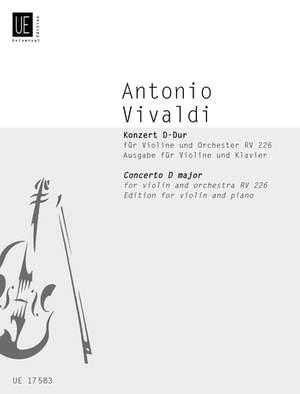 Vivaldi Antonio: Vivaldi Concerto Dmaj Vln Pft.red Fanna I/129 Rv 226