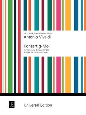 Vivaldi Antonio: Vivaldi Konzert Gmin Vln Pft Op. 6/3 Rv 318