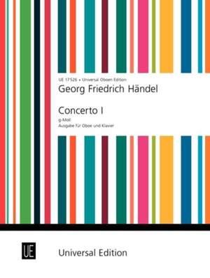 Händel Georg Fr: Handel Konzert No.1 Gmin Ob Pft