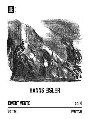 Eisler, H: Divertimentio Op4 Wind Quintet Op. 4