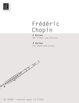 Chopin, F: Chopin Four Valses Fl Pft Band 7