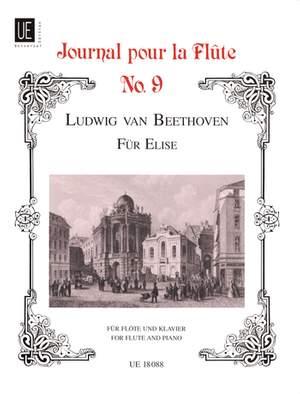 Beethoven: Fur Elise Vol.ix Fl Pft Woo 59 Band 9