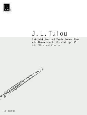 Braun Gerhard: Tulou Introduction & Variationen Fl Pft Op. 55 Band 11
