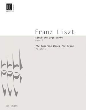 Liszt, F: Liszt Complete Organ Works VII