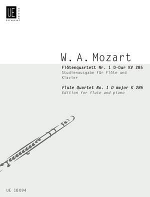 Mozart, W A: Flute Quartet No. 1 KV 285 Band 15