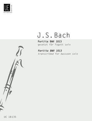 Bach, J S: Bach Js Partita Solo Bsn Bwv 1013