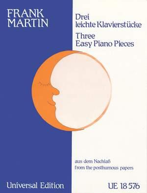 Martin, F: Martin Three Easy Pieces
