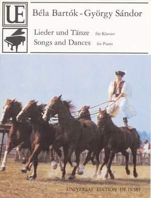 Bartok, B: Bartok-sandor Songs & Dances