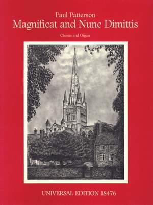 Patterson Paul: Patterson Magnificat & Nunc Dimittis Cho Op. 59