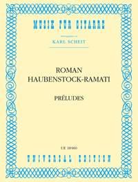 Haubenstock-Ram: Haubenstock-ramati Preludes S.gtr
