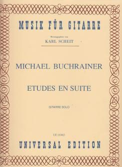 Buchrainer, M: Buchrainer Etudes En Suite S.gtr