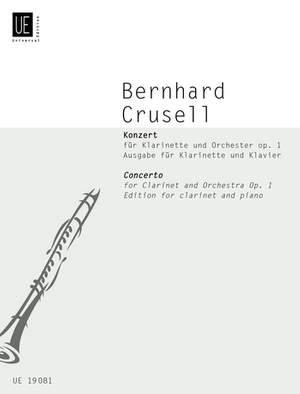 Crusell, B H: Concerto op. 1