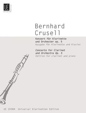 Crusell, B H: Concerto op. 5