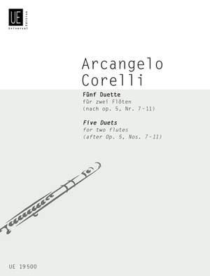 Braun Gerhard: Corelli 5 Duets 2flts Op. 5, Nr. 7-11