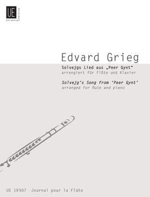 Grieg, E: Solveig's Song