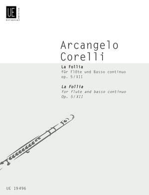 Braun Gerhard: Corelli La Follia Op5/12 Fl Bc Op. 5/12