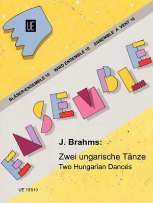 Brahms, J: Brahms Two Hungarian Dances Wind.ens Band 10