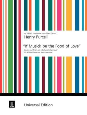 Braun Gerhard: Purcell If Music Be The Food Tre.rec Pft