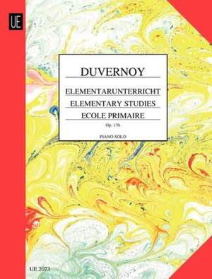 Duvernoy Jean B: Elementary Studies op. 176
