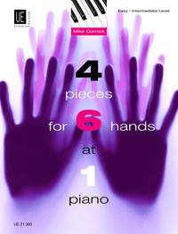 Cornick, M: 4 Pieces for 6 Hands at 1 Piano