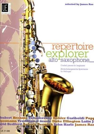 Repertoire Explorer – Alto Saxophone