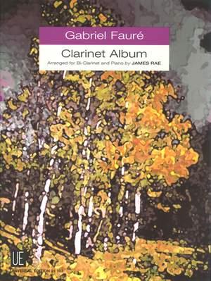 Rae, James: Clarinet Album