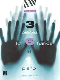 Cornick, M: 3 pieces for 6 hands at 1 piano