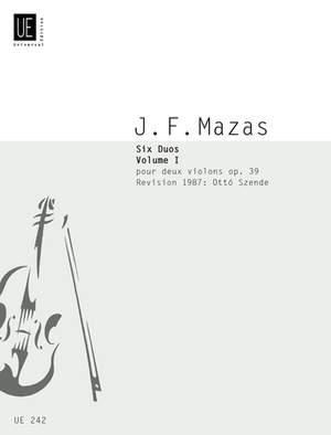 Mazas, J: Mazas Kleine Duos Op39/1 2vln Op. 39 Band 1
