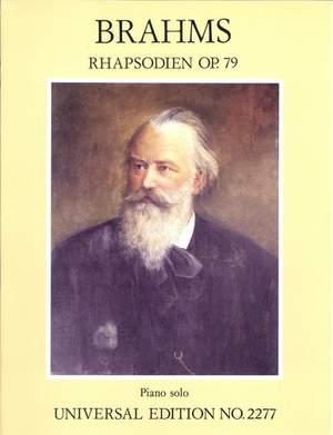 Brahms, J: Zwei Rhapsodien Op.79
