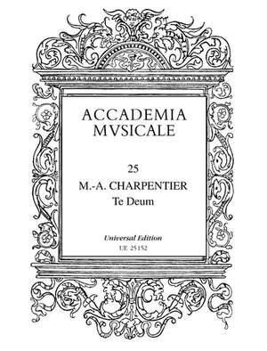 Charpentier, M: Te Deum