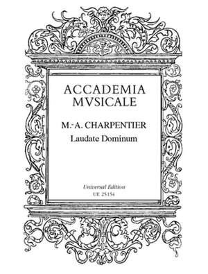 Charpentier, M: Laudate Dominum Omnes Gentes