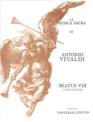 Füssl Karl Hein: Vivaldi Beatus Vir Vocal Score