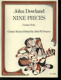 Dowland, J: Dowland Nine Pieces S.gtr