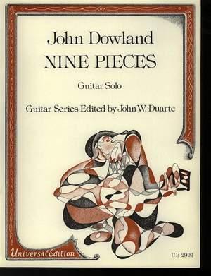 Dowland John: Dowland Nine Pieces S.gtr