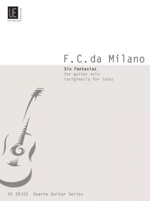 Francesco Canov: Milano Six Fantasias Gtr