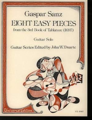 Sanz, G: Sanz Eight Easy Pieces S.gtr