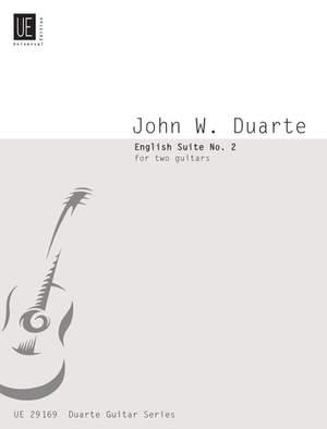 Duarte John W.: Duarte English Suite No.2 2gtr Op.77