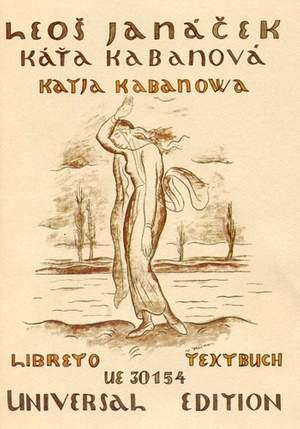 Janácek, L: Katja Kabanova Libretto