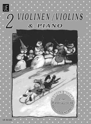 Mozart Leopold: Mozart Musical Sleigh Ride 2vln Pft