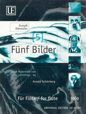 Diermaier, J: Diermaier Five Paintings S.flute