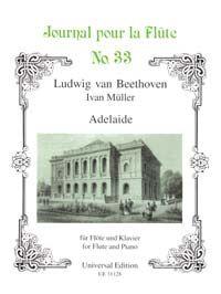 Beethoven: Adelaide Fl Pft Band 33