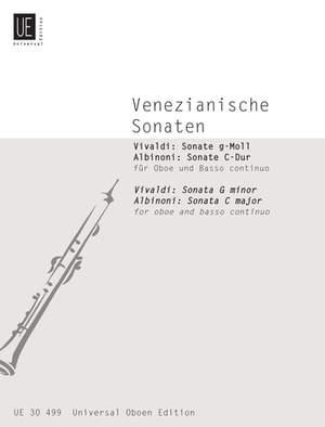 Vivaldi Antonio: Various Venician Sonatas Ob Bc