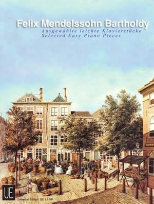 Mendelssohn: Selected Easy Piano Pieces