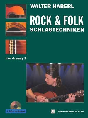 Haberl Walter E: Schlagtechniken 2 - Folk-Rock-Traditionals mit 2 CDs Band 2