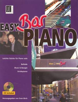 Birch Sven: Easy Bar Piano - Ballade, Blues & Boogie, Stridepiano with mit CD